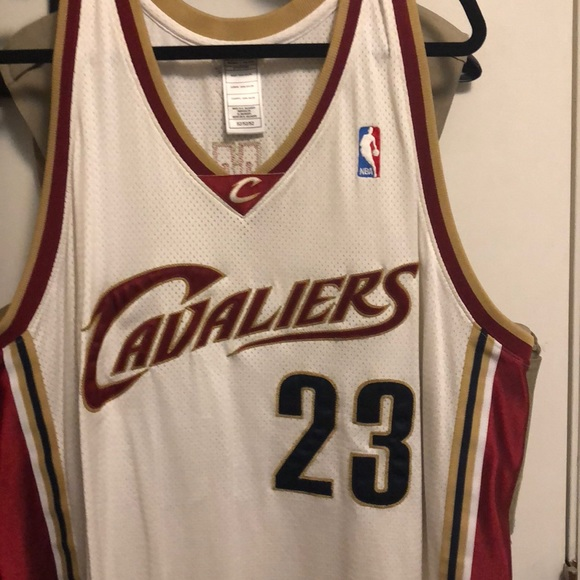 the best attitude ea172 7a38e Reebok Lebron James AUTHENTIC JERSEY-NEW